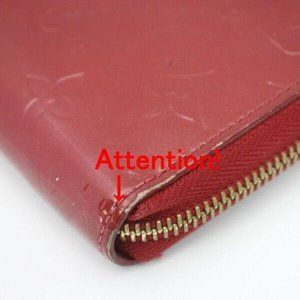 Louis Vuitton Bags - Auth Louis Vuitton Zippy Wallet Red #6251L19